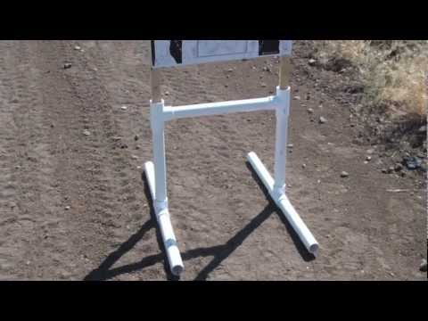 PVC Target Stand