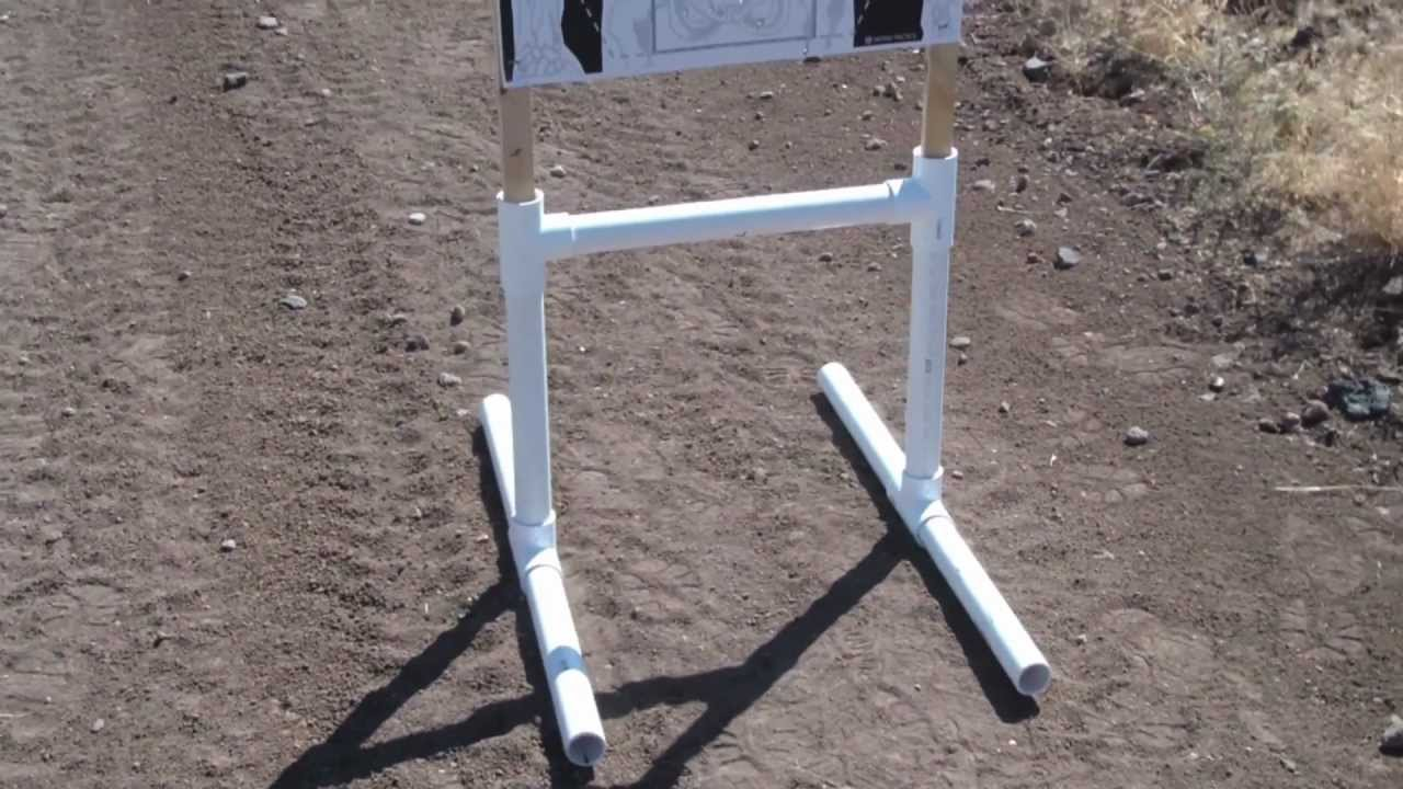 Pvc Target Stand Youtube