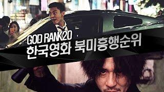 한국영화 북미 박스오피스 흥행 순위