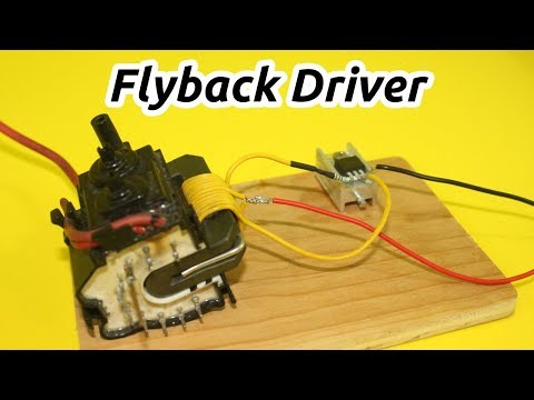 Flyback Driver with Only 2 Components