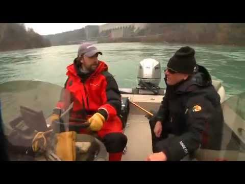 Quest for the One TV filmed on the Niagara River