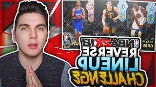THE REVERSE LINEUP CHALLENGE! NBA 2K18 SQUAD BUILDER