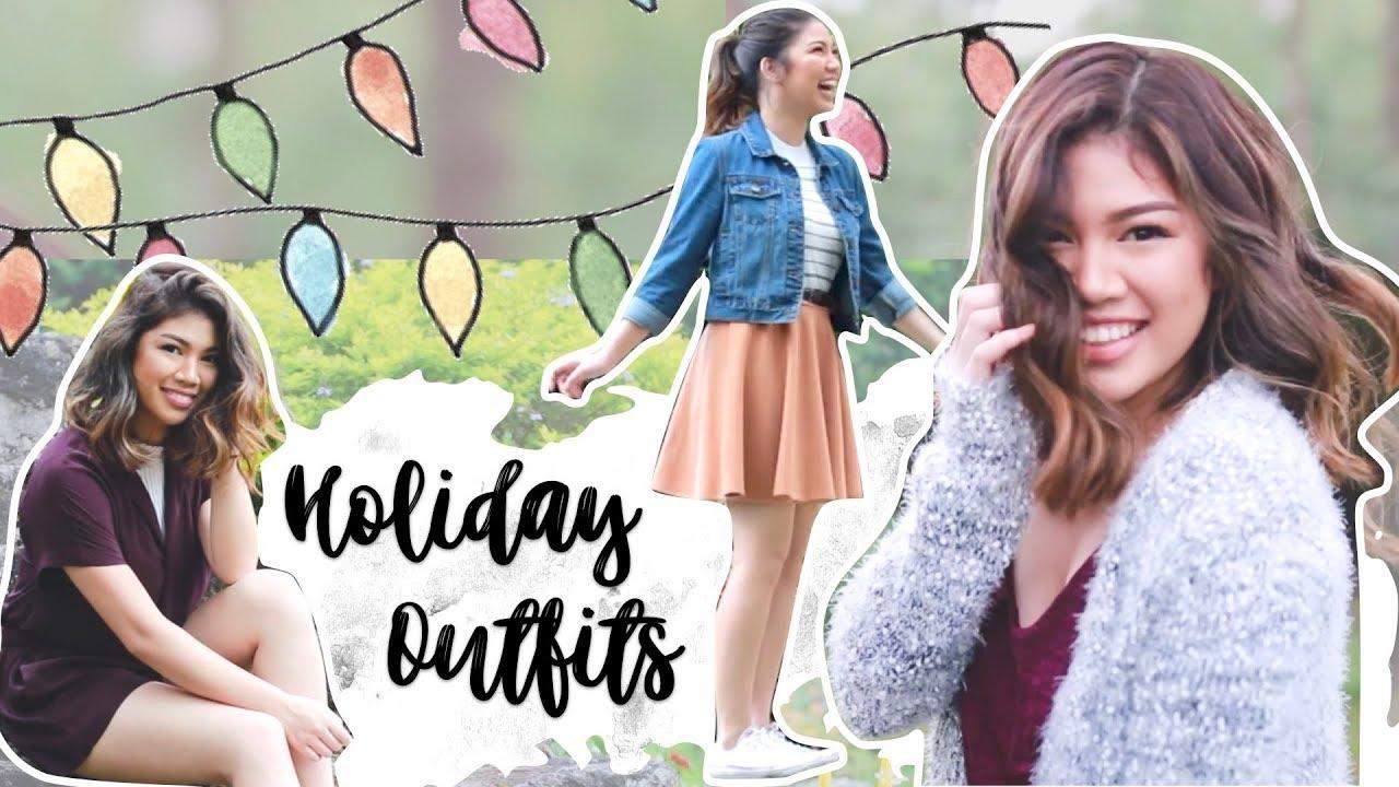 Christmas Outfit Ideas 2017 (Philippines) | Janina Vela
