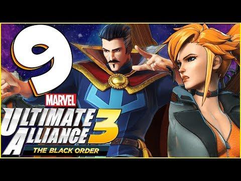 Marvel Ultimate Alliance 3: The Black Order Walkthrough Part 9 Dormamu comes to Bargain! (co-op) - 동영상