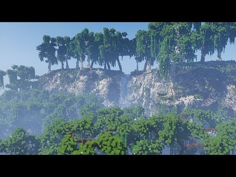 Realistic Minecraft Biome! Minecraft Timelapse!