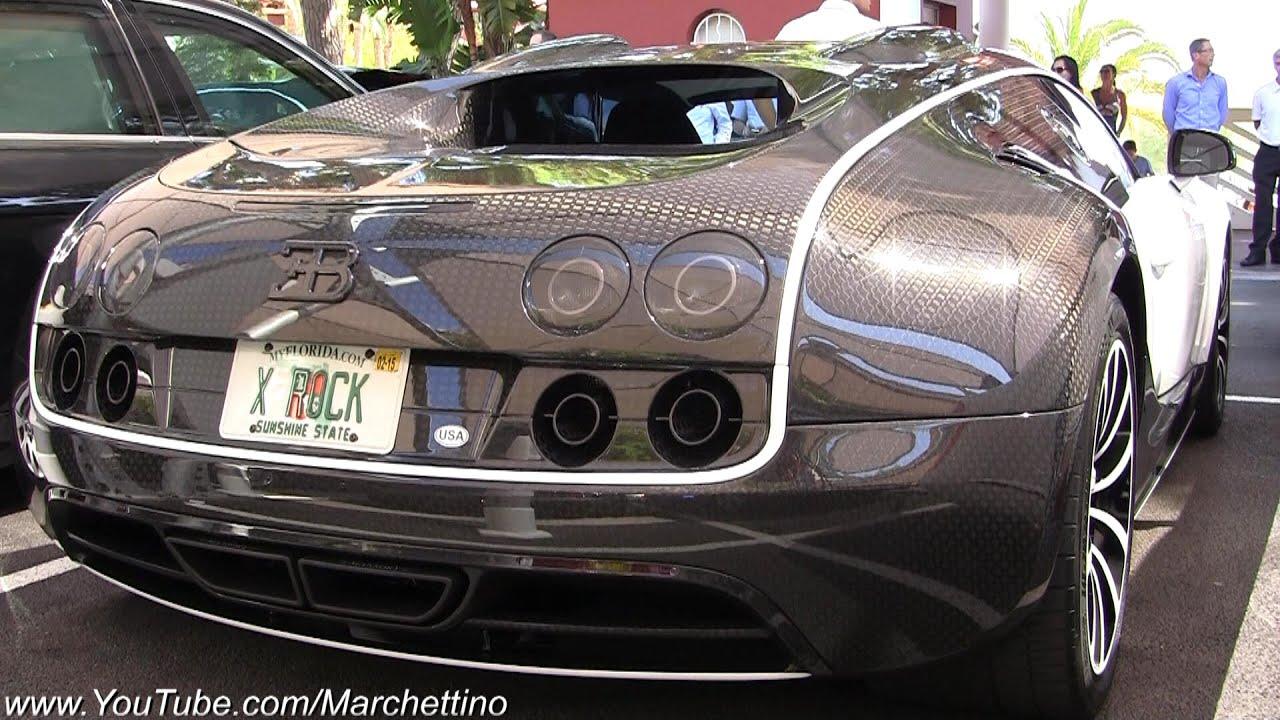 €2 5m Mansory Bugatti Veyron Loud Start & Accelerate!