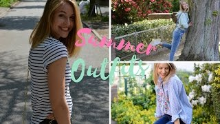 SPRING/SUMMER OUTFIT IDEAS | Charlotte K.