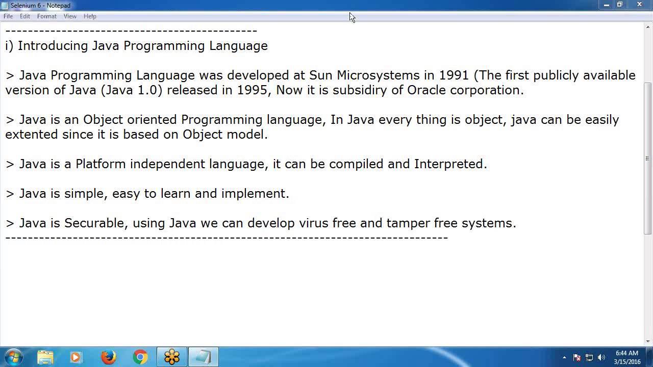 Java Tutorial 2: Introduction to Java and Java Environment Setup