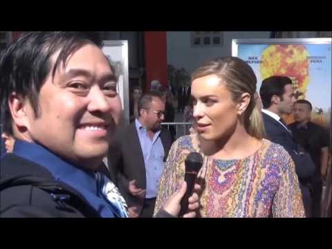 CHIPS Movie Premiere Red Carpet Interview with Jessica McNamee