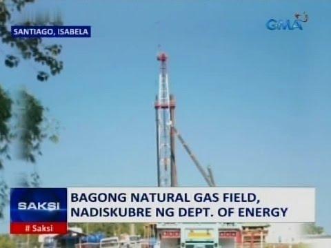 Saksi: Bagong natural gas field, nadiskubre sa Santiago, Isabela