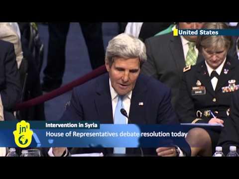 US Senators back plan for 'limited action' in Syria: Obama poised to strike at Assad regime