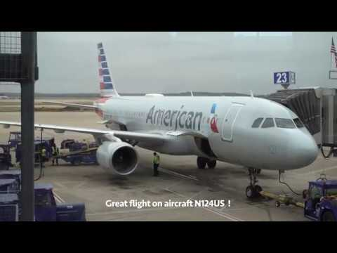 American Airlines Airbus A320 / Charlotte To Austin / 4K Video