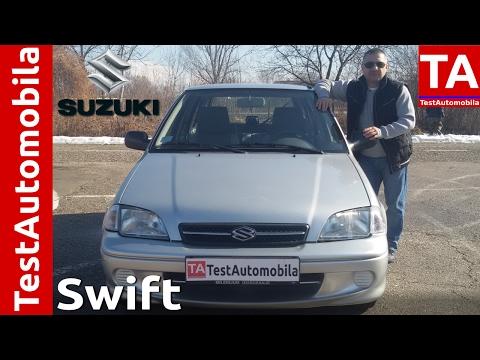 SUZUKI Swift II - POČASNI KRUG