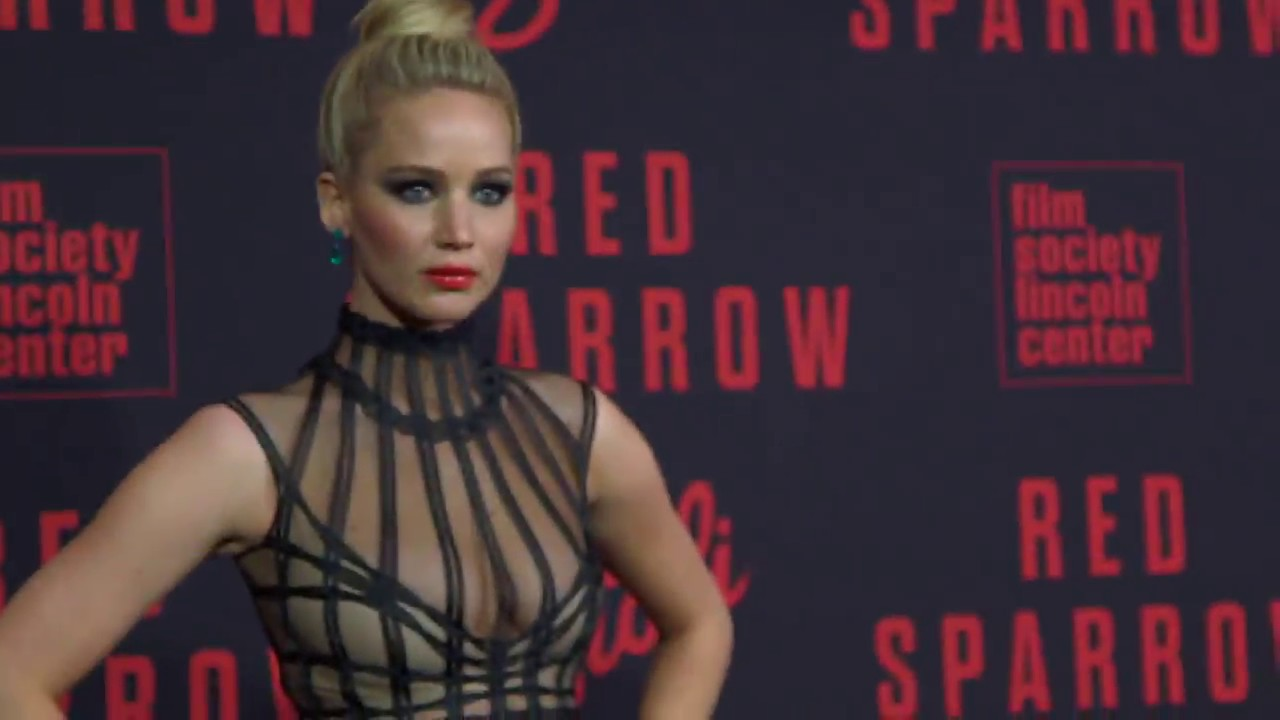 Red Sparrow New York City Premiere - Broll (official video) - YouTube