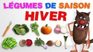 Foufou - Les Legumes d' Hiver/Learn winter vegetables for Kids (Serie 01) 4 k