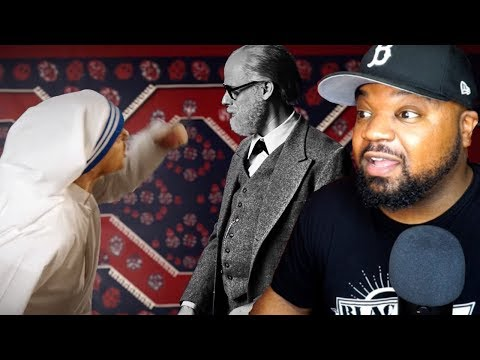 Mother Teresa vs Sigmund Freud Epic Rap Battle REACTION