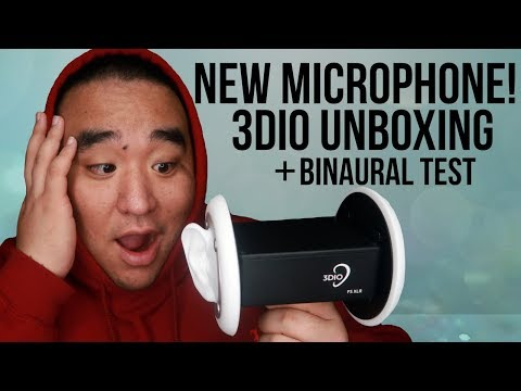 [ASMR] NEW MIC! 🎙 (3Dio Unboxing and Binaural Test) | MattyTingles
