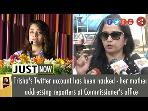 Actress Trisha's Mother says, she is not a PETA member | Full Press Meet
