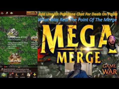 Game Of War Ep 513 What Was Real The Point Of The Merge Server Shut Down