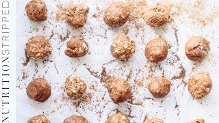 Energy Truffles and Trail Mix Snacks On The Go | Nutrition Stripped