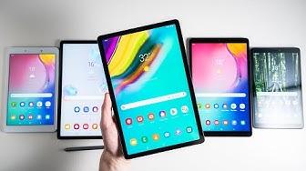 Top 6: Die besten Samsung Tablets Anfang 2020