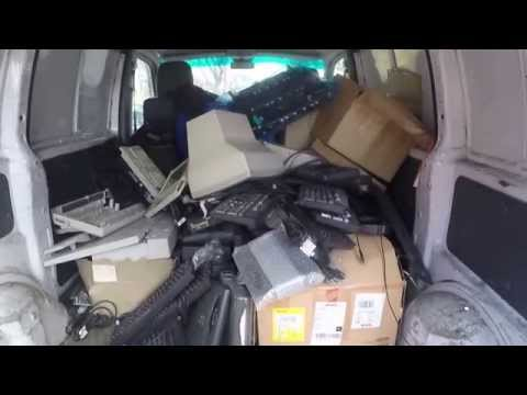 Commercial E-Waste Pick-Ups (part 1)