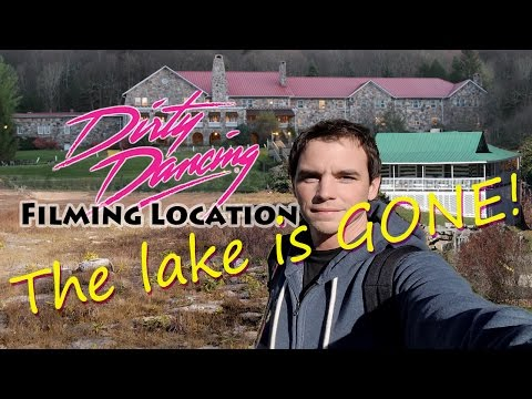 The Lake is Gone?! Dirty Dancing Filming Location ! Mountain Lake Hotel