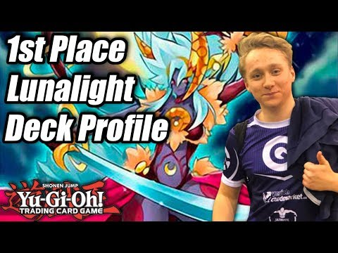 Yu-Gi-Oh! YCS Chicago 1st Place Lunalight Deck Profile! ft. Raphael Neven!