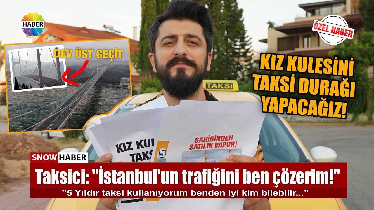 İSTANBUL'UN TRAFİĞİNİ BEN ÇÖZERİM DİYEN TAKSİCİ - Röportaj Adam