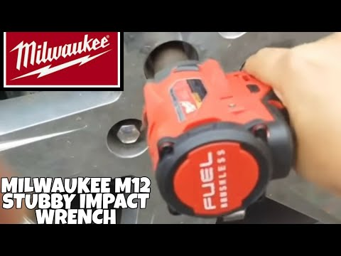 Milwaukee M12 Stubby Impact Wrench Has Arrived /Unboxing