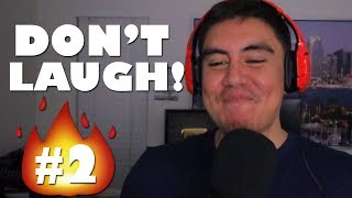 I TOLD YOU GUYS TO BRING THE HEAT THIS TIME | Try Not To Laugh #2 (Fan Submissions)