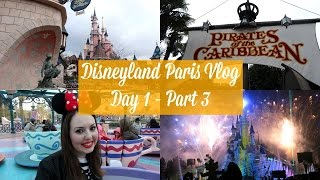 disneyland paris vlog   day 1 part 3