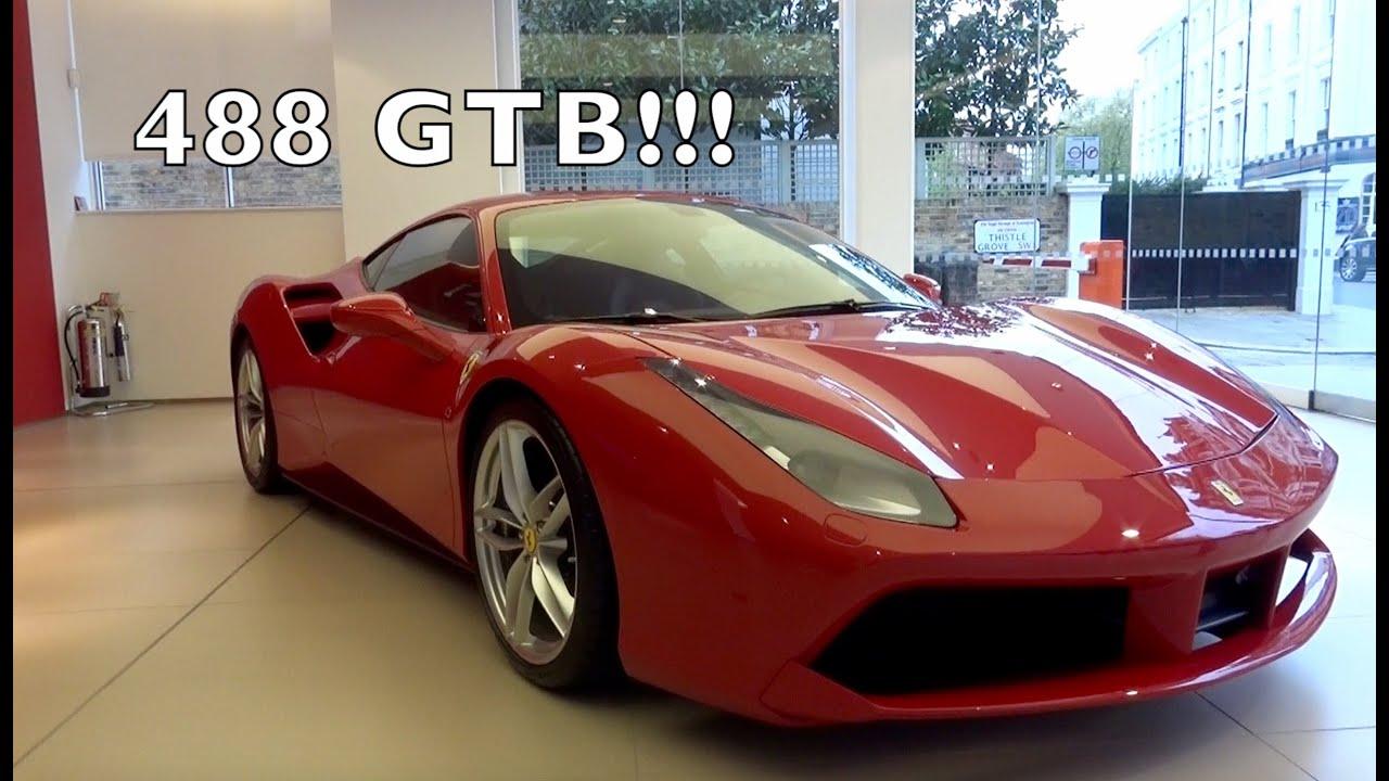 NEW Ferrari 488 GTB in London!