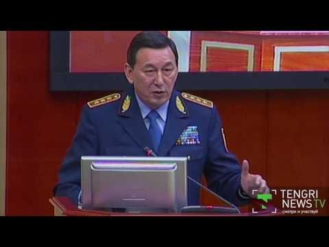 Министр МВД Касымов прокомментировал дело облитого мочой полицейского