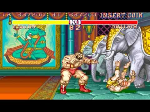 [Arcade]Street Fighter II-The World Warrior Zangief TAS in 9:38