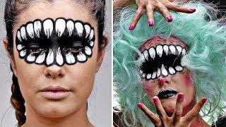 Maquillaje Escalofriante para Halloween en Sencillos Pasos - Ideas para Disfraces | Blossom Español