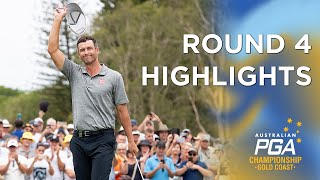 Round 4 Highlights - 2019 Australian PGA Champions...