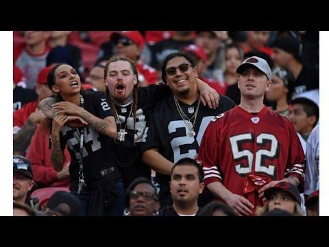 Las Vegas Raiders Vs San Francisco 49ers Rivarly Game Can Fans Keep It Peacful ? By Eric Pangilinan