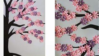 Diy Tree Branch Wall Art Decor   3d Wall Sticker   Wall Decoration Idea #2