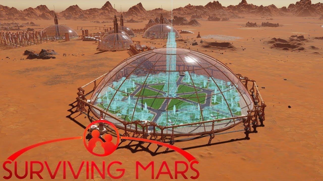 16] The Child Care & Education Mega Dome | Surviving Mars
