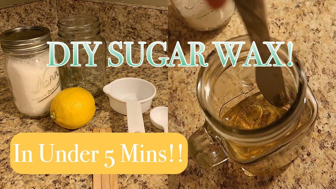 diy sugar wax using the microwave quick easy
