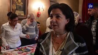 ذوو الإعاقة يعرضون منتجاتهم في بازار خيري في دمشق (4/12/2019)