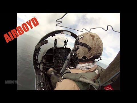 Harrier Flight Cockpit View (2013)