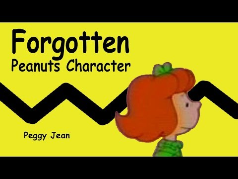 Forgotten Peanuts Character: Peggy Jean