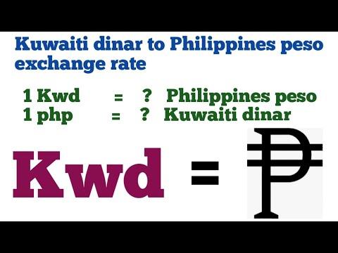 Kuwaiti Dinar To Philippines Peso