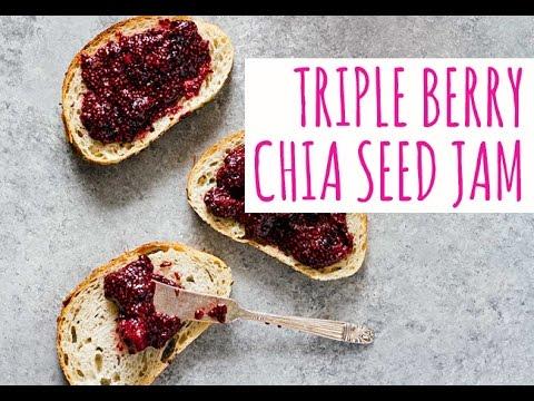 Triple Berry Chia Seed Jam