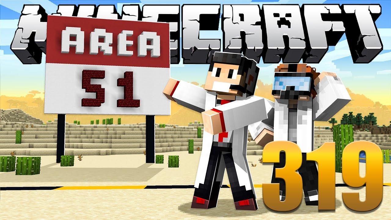 Área 51 - Minecraft Em busca da casa automática #319