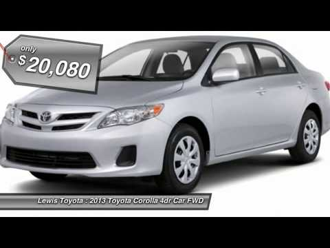 Great 13 TOYOTA COROLLA Dodge City, KS P3692A. Lewis Toyota