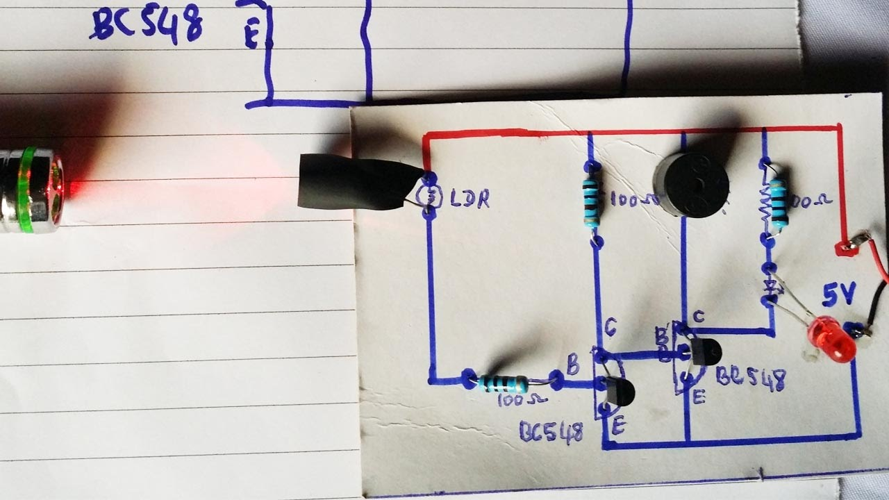 Watch on security alarm circuit