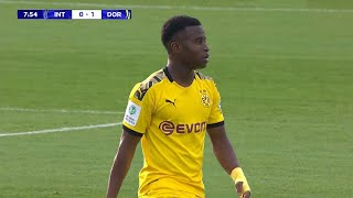 15 Year Old Youssoufa Moukoko is TOO GOOD! 2019/20